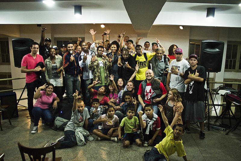 Sarau Hip Hop com Mario Quintana, Porto Alegre-RS